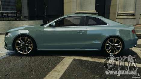 Audi S5 v1.0 pour GTA 4 est une gauche