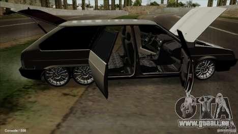 VAZ 2109 für GTA San Andreas Unteransicht