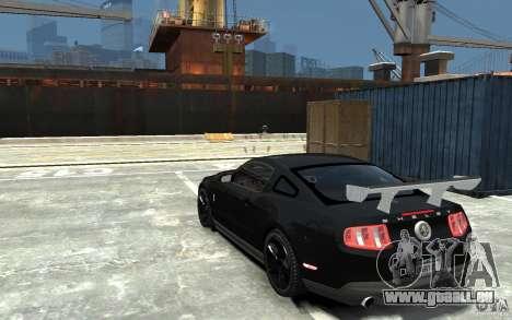 Ford Shelby GT500 v.1.0 für GTA 4 hinten links Ansicht
