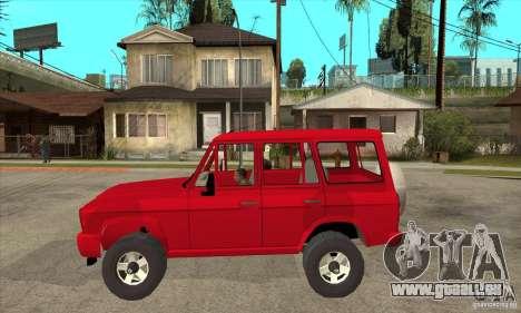 ARO 244 pour GTA San Andreas laissé vue