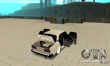 Ouvrir ou fermer le coffre pour GTA San Andreas troisième écran