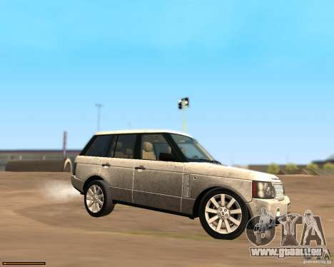 Land Rover Range Rover Supercharged 2008 für GTA San Andreas linke Ansicht
