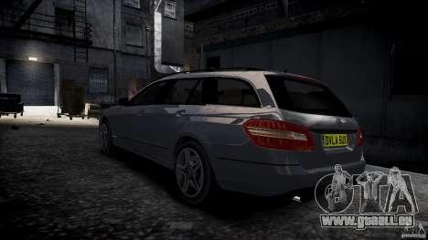Mercedes E-Klasse-Wagen für GTA 4 linke Ansicht