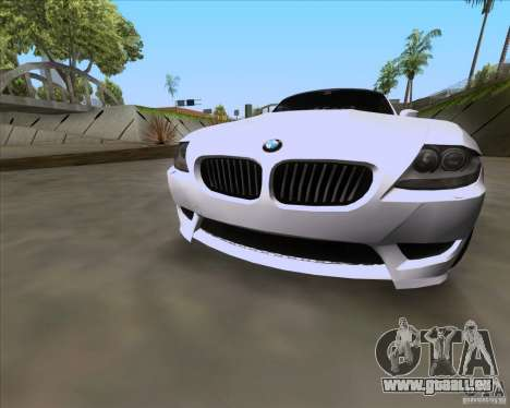BMW Z4 M Coupe pour GTA San Andreas vue de droite