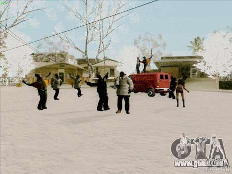 Harlem Shake pour GTA San Andreas deuxième écran