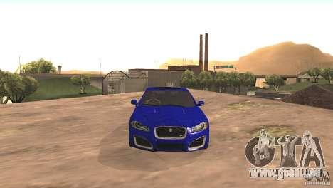 Jaguar XFR 2012 V1.0 für GTA San Andreas linke Ansicht
