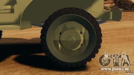 Dodge WC-62 3 Truck pour GTA 4 est un côté