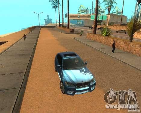 BMW Motorsport X6 M v. 2.0 für GTA San Andreas linke Ansicht