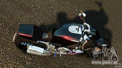 Ducati Diavel Carbon 2011 pour GTA 4 est un droit