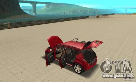 Nissan Murano 2004 pour GTA San Andreas vue intérieure