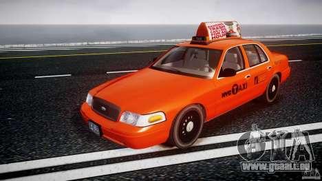 Ford Crown Victoria 2003 v.2 Taxi pour GTA 4