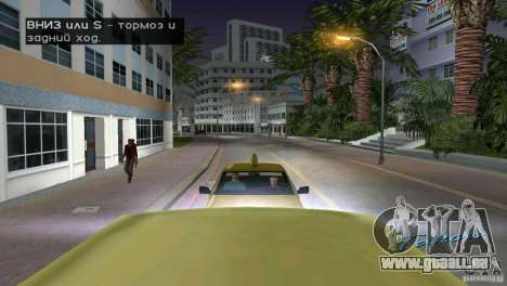 Reiten-Passagier für GTA Vice City Screenshot her