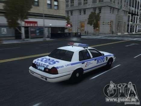 Ford Crown Victoria NYPD 2012 pour GTA 4 est un droit