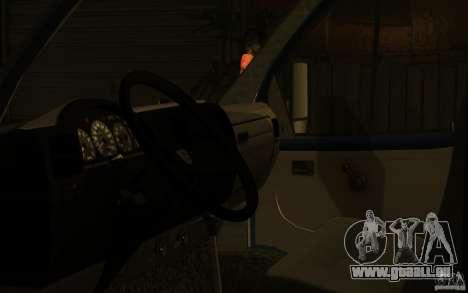 Gazelle 33023 für GTA San Andreas Rückansicht
