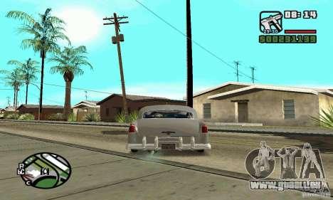 Houstan Wasp (Mafia 2) pour GTA San Andreas sur la vue arrière gauche