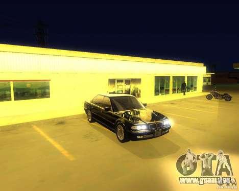 BMW 750i e38 2001 M-Packet für GTA San Andreas