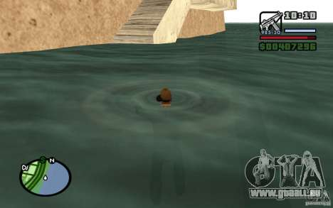 Flux et reflux pour GTA San Andreas quatrième écran