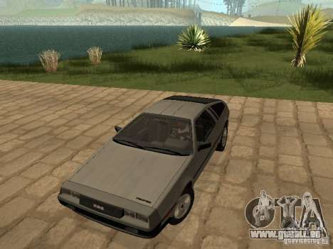 DeLorean DMC-12 1982 pour GTA San Andreas