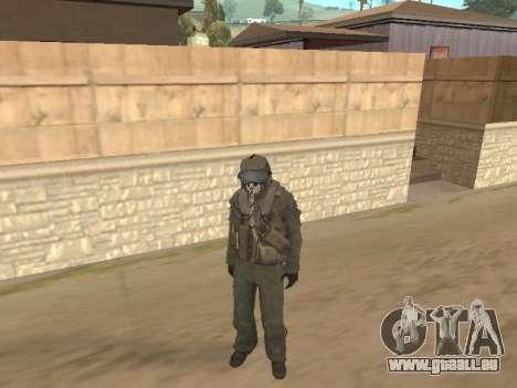 Avion de chasse pour GTA San Andreas