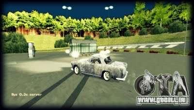 Anneau de Roskilde pour GTA San Andreas troisième écran