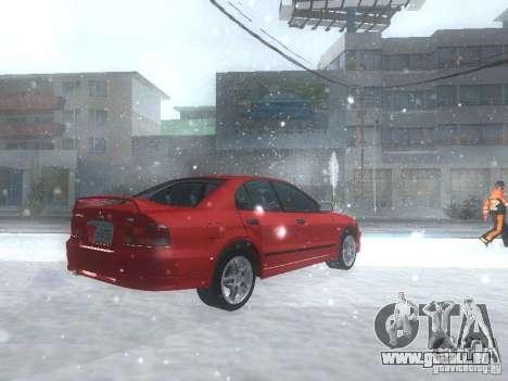 Mitsubishi Galant VR6 pour GTA San Andreas vue de droite