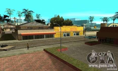 Grove Street 2013 v1 pour GTA San Andreas douzième écran