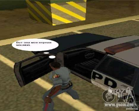 Vue TV pour GTA San Andreas quatrième écran
