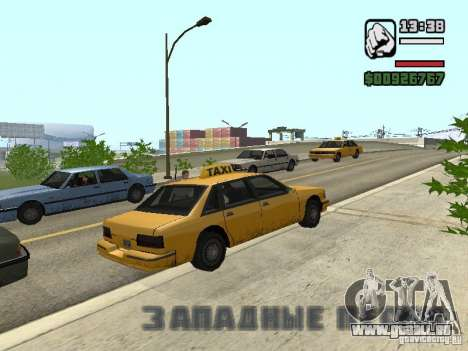 Real-time für GTA San Andreas dritten Screenshot