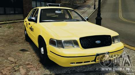 Ford Crown Victoria NYC Taxi 2004 für GTA 4