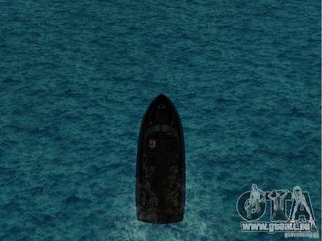 Squalo aus Grand Theft Auto IV für GTA San Andreas linke Ansicht