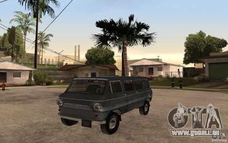 ZAZ 970 pour GTA San Andreas laissé vue