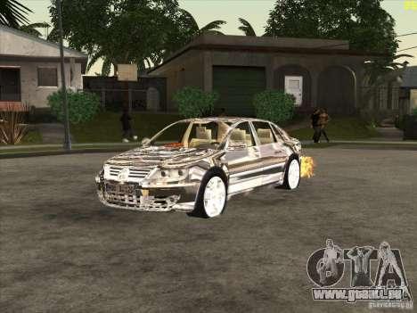 VW Phaeton verchromt für GTA San Andreas
