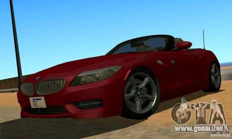 BMW Z4 2010 für GTA San Andreas
