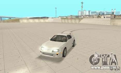 Toyota Supra 1998 stock pour GTA San Andreas