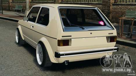 Volkswagen Golf Mk1 Stance für GTA 4 hinten links Ansicht