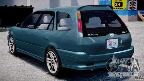 Toyota Sprinter Carib BZ-Touring 1999 [Beta] pour GTA 4 est un droit