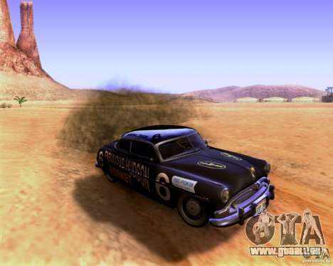 Hudson Hornet 1952 pour GTA San Andreas vue de droite