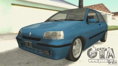 Renault Clio RL 1996 pour GTA San Andreas