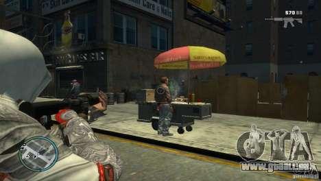 Assassins Creed BrotherHood - Ezio Auditore für GTA 4 Sekunden Bildschirm