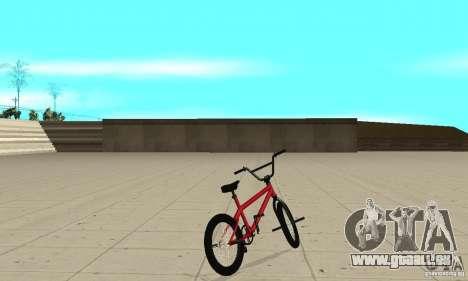 Powermatic BMX 2006 für GTA San Andreas zurück linke Ansicht