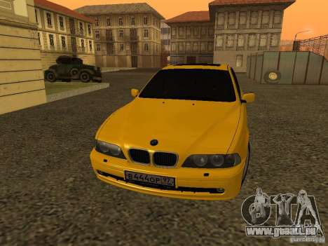 BMW 540i pour GTA San Andreas laissé vue