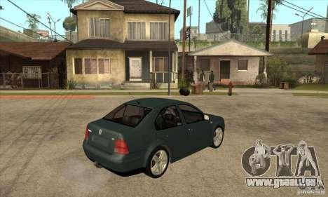 Volkswagen Bora-Golf für GTA San Andreas rechten Ansicht
