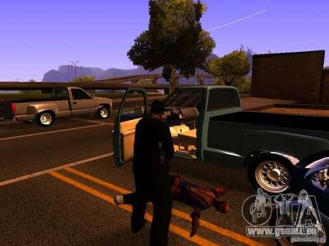 Pancor Jackhammer für GTA San Andreas fünften Screenshot
