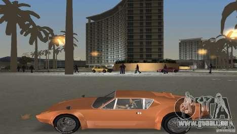 De Tomaso Pantera pour une vue GTA Vice City de l'intérieur