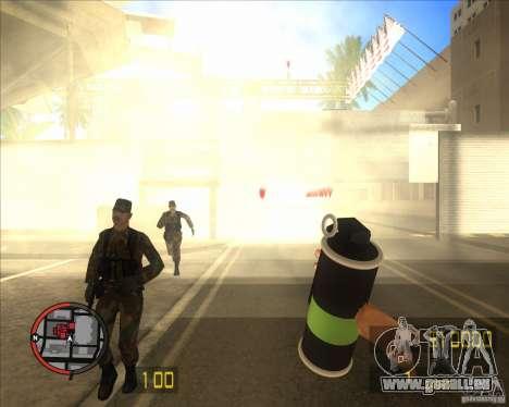 Rauch Granate HD für GTA San Andreas
