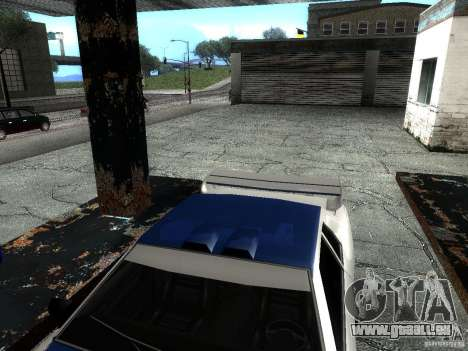 Vinyle avec la BMW M3 GTR dans Most Wanted pour GTA San Andreas vue arrière