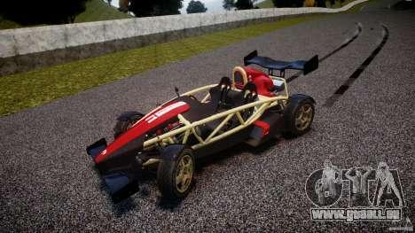 Ariel Atom 3 V8 2012 Custom Mugen für GTA 4 Innenansicht
