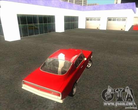 Plymouth Barracuda 1968 für GTA San Andreas Innenansicht