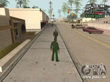 Ragdoll + Endorphin mod v1.0 pour GTA San Andreas