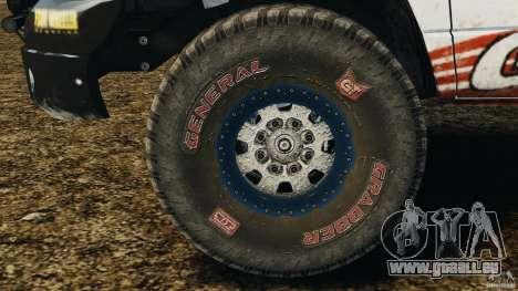 Dodge Power Wagon für GTA 4 Innenansicht